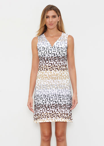 Leopard Ombre (7845) ~ Vivid Sleeveless Dress