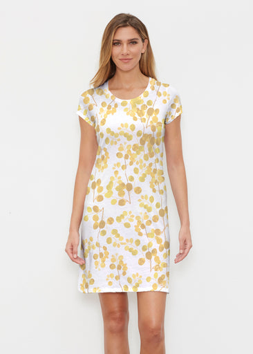 Golden Pome (7846) ~ Classic Crew Dress