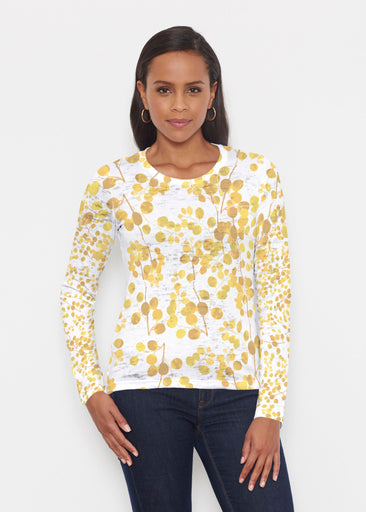 Golden Pome (7846) ~ Signature Long Sleeve Crew Shirt