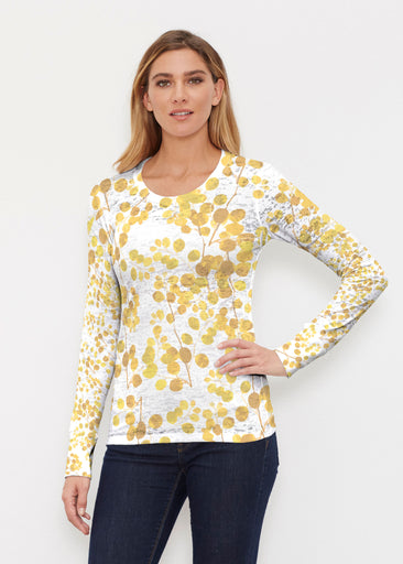 Golden Pome (7846) ~ Thermal Long Sleeve Crew Shirt