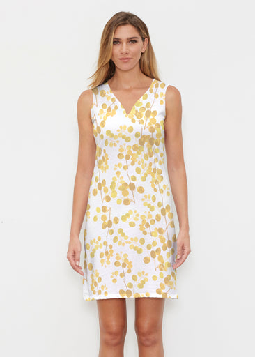 Golden Pome (7846) ~ Classic Sleeveless Dress