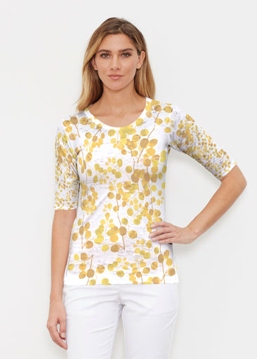 Golden Pome (7846) ~ Signature Elbow Sleeve Crew Shirt