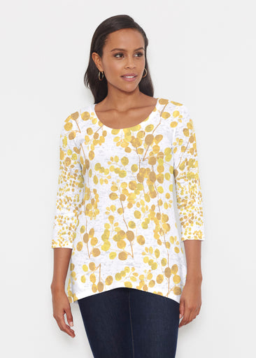 Golden Pome (7846) ~ Katherine Hi-Lo Thermal Tunic