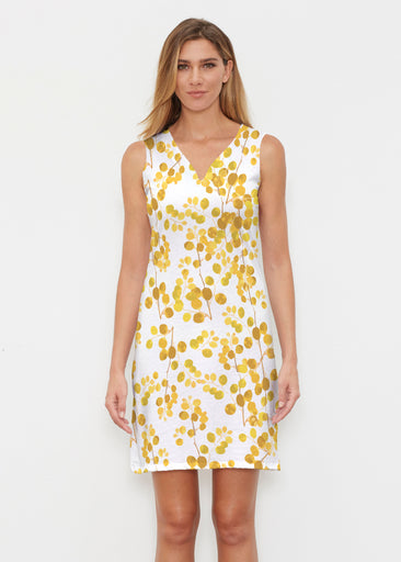 Golden Pome (7846) ~ Vivid Sleeveless Dress