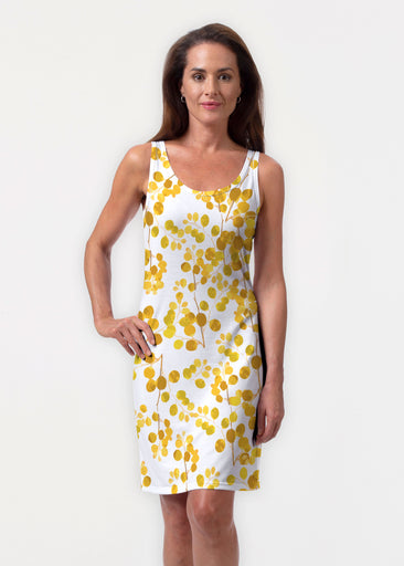 Golden Pome (7846) ~ Vivid Scoop Tank Dress