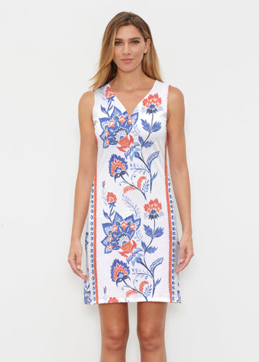 Bohemian Chintz (7847) ~ Vivid Sleeveless Dress
