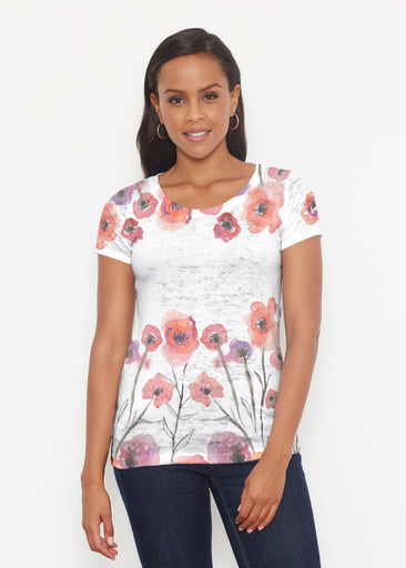 Meadow (7848) ~ Signature Short Sleeve Scoop Shirt