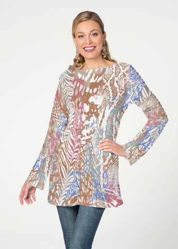 Jungle Warrior (7849) ~ Banded Boatneck Tunic