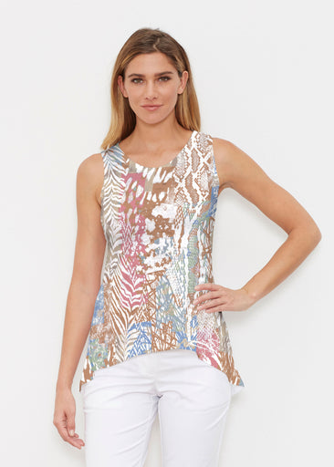 Jungle Warrior Blue (7849) ~ Signature High-low Tank