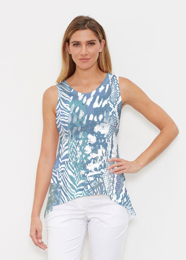 Jungle Warrior Blue (7850) ~ Signature High-low Tank
