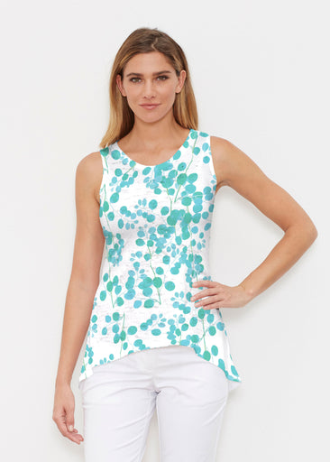 Teal Pome (7863) ~ Signature High-low Tank