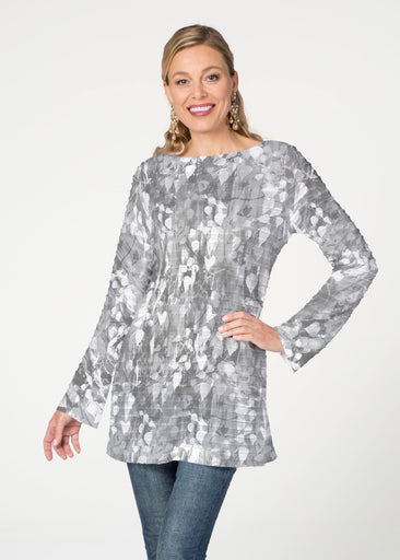 Shadow (7869) ~ Banded Boatneck Tunic