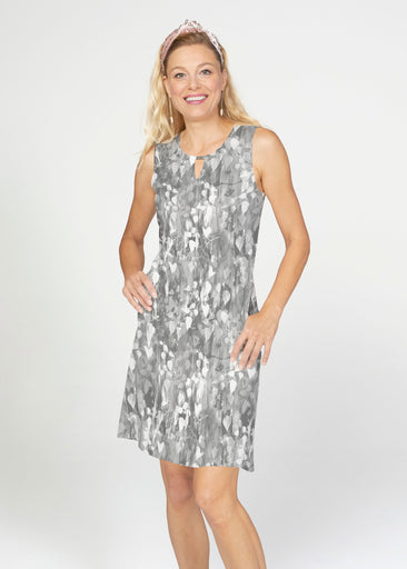 Shadow (7869) ~ French Terry Keyhole Sleeveless Dress