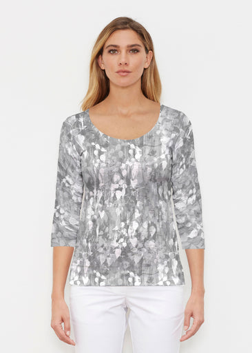 Shadow (7869) ~ Signature 3/4 Sleeve Scoop Shirt