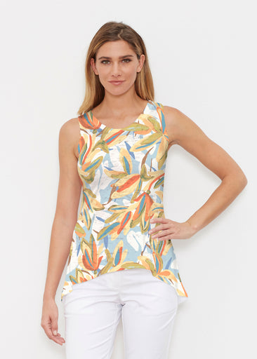 Colorful Palm (7874) ~ High-low Tank