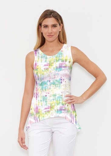 Summer Tie Dye (7878) ~ High-low Tank