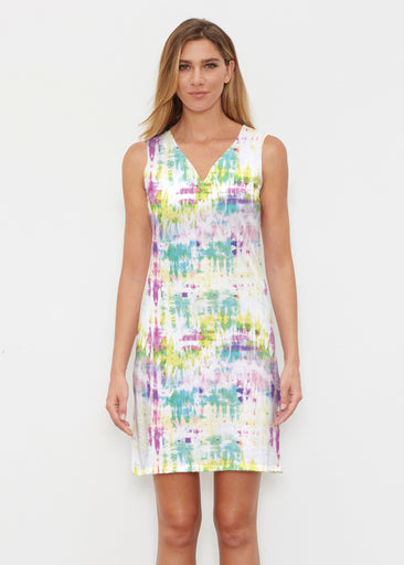 Summer Tie Dye (7878) ~ Vivid Sleeveless Dress