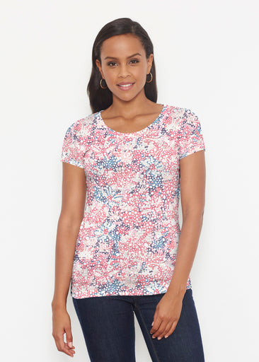 Tulips are Back (7880) ~ Short Sleeve Scoop Shirt