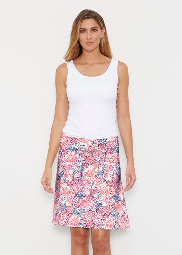 Tulips are Back (7880) ~ Silky Brenda Skirt 21 inch