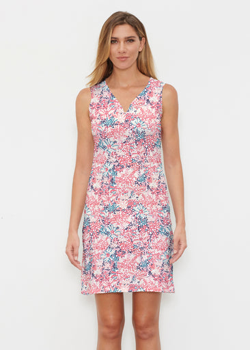 Tulips Are Back (7880) ~ Vivid Sleeveless Dress