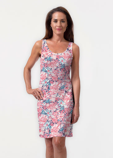 Tulips Are Back (7880) ~ Vivid Scoop Tank Dress
