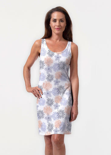 Off The Grid (7881) ~ Vivid Scoop Tank Dress
