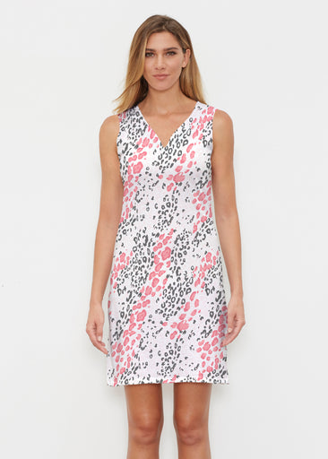 Greek Cat Pink (7903) ~ Classic Sleeveless Dress