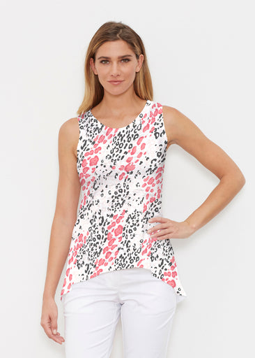 Greek Cat Pink (7903) ~ High-low Tank