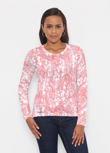 Shadow Coral (7915) ~ Signature Long Sleeve Crew Shirt