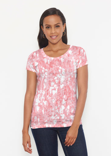 Shadow Coral (7915) ~ Short Sleeve Scoop Shirt
