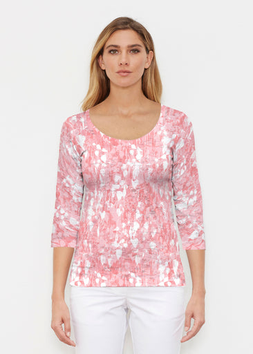 Shadow Coral (7915) ~ Signature 3/4 Sleeve Scoop Shirt