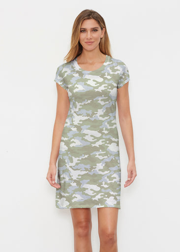 Camo Green (9244) ~ Classic Crew Dress