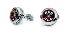 TF Est. 1968 Poker cufflinks CJ-SS01