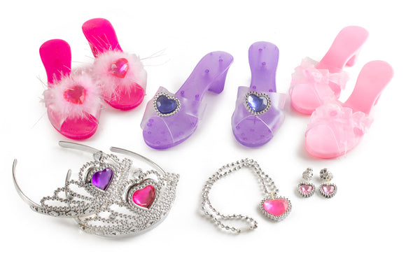 Little Princess Deluxe Dress Up and Role Play Slippers and Jewelry Set …