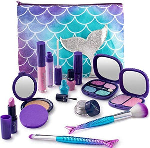 Make it Up Mermaid Collection Realistic Pretend Makeup Set (NOT Real Makeup)…