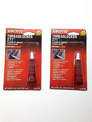 LOCTITE 37421 RED 271™ Nuts & Bolts Threadlocker-6mL-Heavy Duty  Get 1 FREE