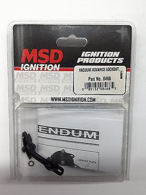 MSD 8468 MSD Ignition Distributor Vacuum Advance Lockout-NEW