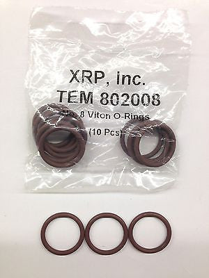 XRP 802008 -8 8AN Viton® O-ring for race hose fittings & plumbing line-Lot of 5