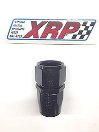 XRP 100012BB Performance Fitting -12/12AN Black Straight Fuel/Water/Oil line