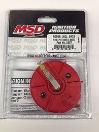 MSD 8457 Racing Rotor including base fits LP CT Distributors 84697