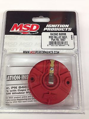 MSD 8467 Billet Distributor Racing Rotor High Performance Drag Racing Rotor