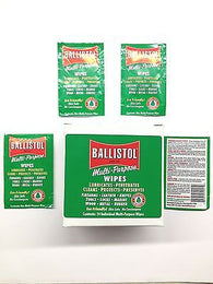 Ballistol Multi Purpose Lubricant Gun Cleaning wipes-Preserving Oil-Pack of 20