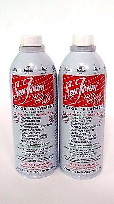 Sea Foam SF-16 Motor Treatment Fuel Additive - 16 oz. 2 PACK/2-Cans