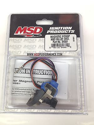 MSD 84661 Magnetic Pickup Replacement for MSD Billet Distributor-2 pin connector