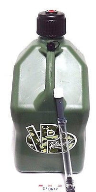 VP Racing Fuels Camo 5 Gallon Fuel Jug & FREE Filler Hose - VPF 3842
