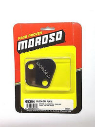 MOROSO 65394 Chevrolet Fuel Pump Block off Plate for BBC