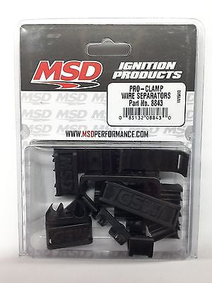MSD 8843 MSD Ignition Pro Clamp Wire Separators-Spark Plug Wire Dividers - 7-9mm