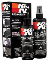 K&N 99-5050 Recharger Air Filter Cleaner Kit Spray Bottles-Squeeze Oil Cleaner