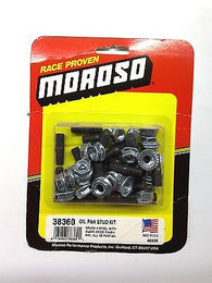 MOROSO 38360 Big Block Chevrolet Oil Pan Stud Kit-BBC '66-'00-Pontiac V8