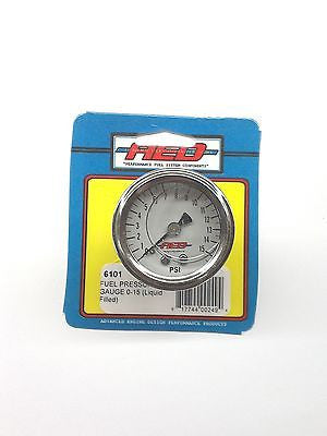 AED 6101 Analog Liquid Filled Fuel Pressure gauge-1.5